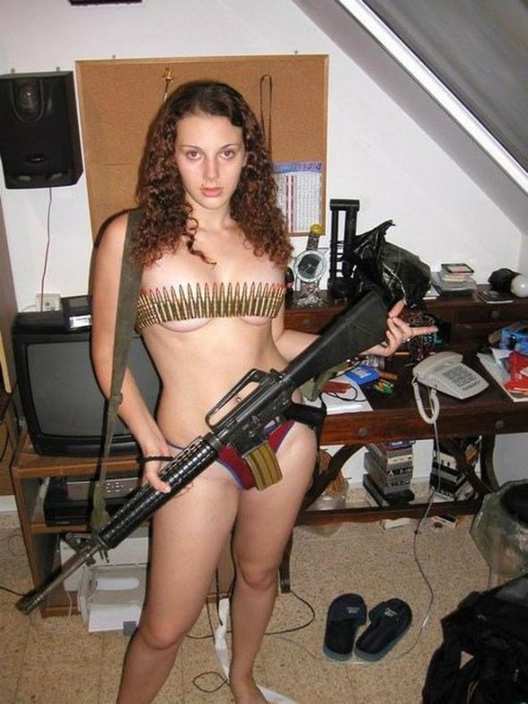 US Army girl naked