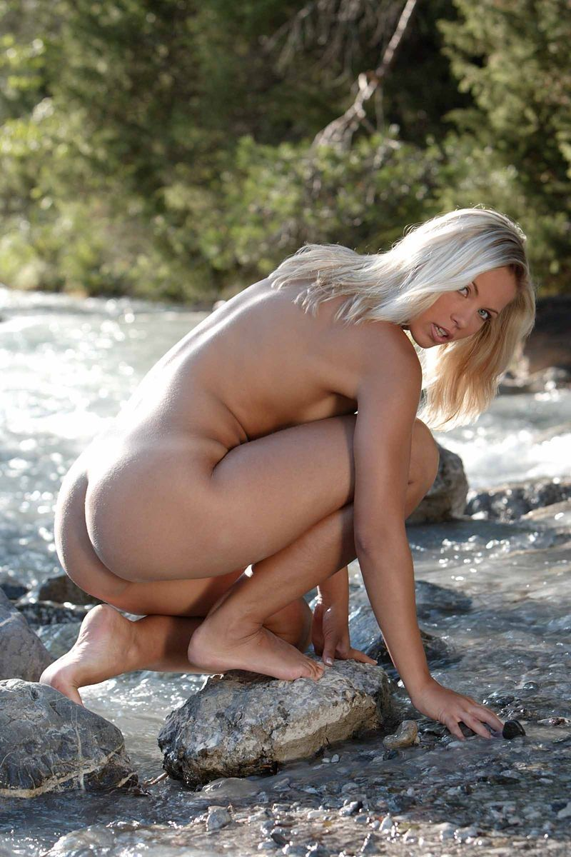 Pity, that Mountain stream nude girls