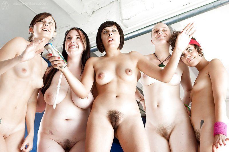Sexy buff lesbians