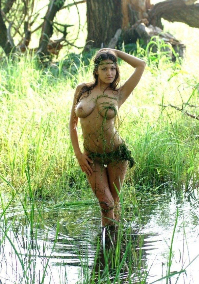 Nude girl in swamp hentia beauty woman