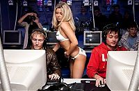 Babes: counter strike tournament girls