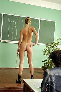 Nake.Me search results: young blonde girl teaching in the class room